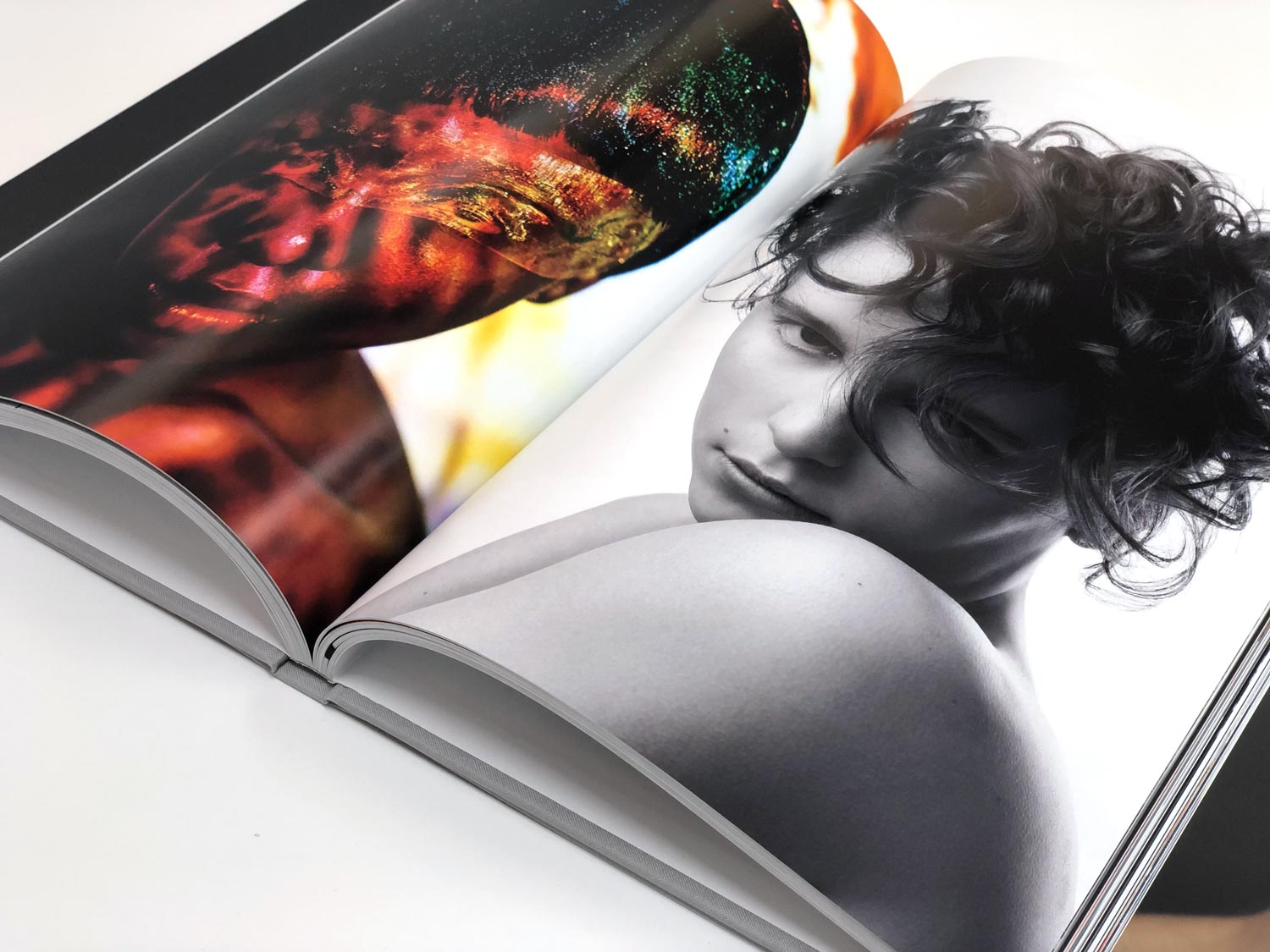 Hair Unllimited Book inside pages