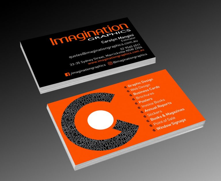 Imagination Graphics business cards