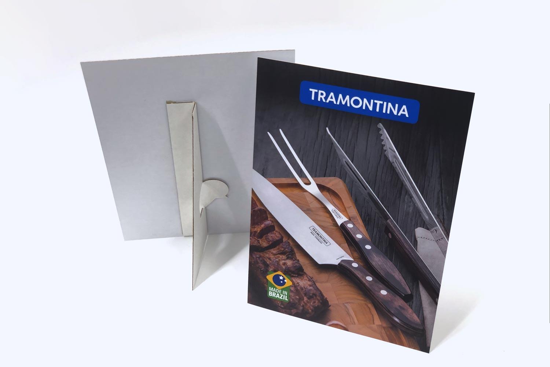 Tramontina Table Top Strut Cards-Material